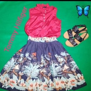 2pieces Tommy Hilfiger Skirt and Blouse